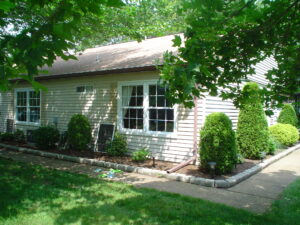 McFeely home with clean windows
